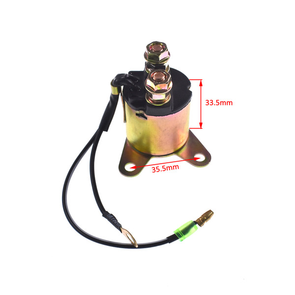 Starter solenoid Relay fits Honda GX160 GX200 5 ~ 6.5HP engine replacement part
