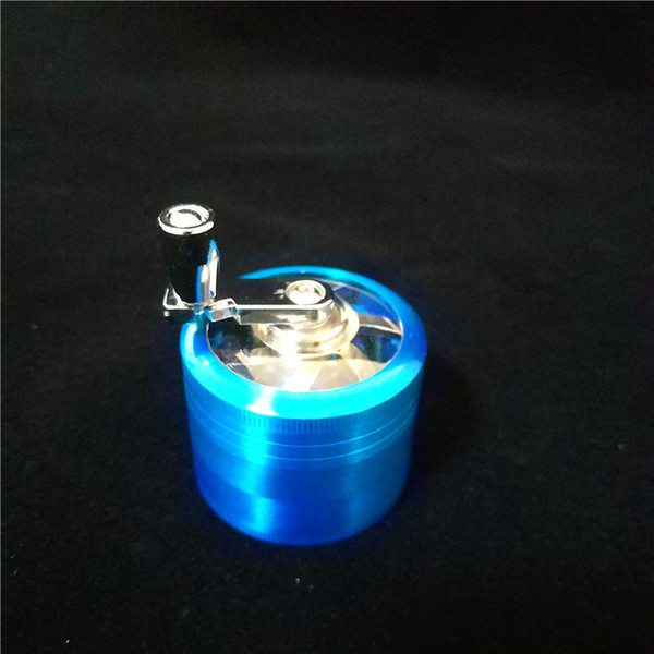 Online Cheap Wholesale Tobacco Herb Grinders 53mm 4 Layers Zicn Alloy Hand  Crank Tobacco Grinders Metal Grinders For Herbs Herbal Grinder 2018 By