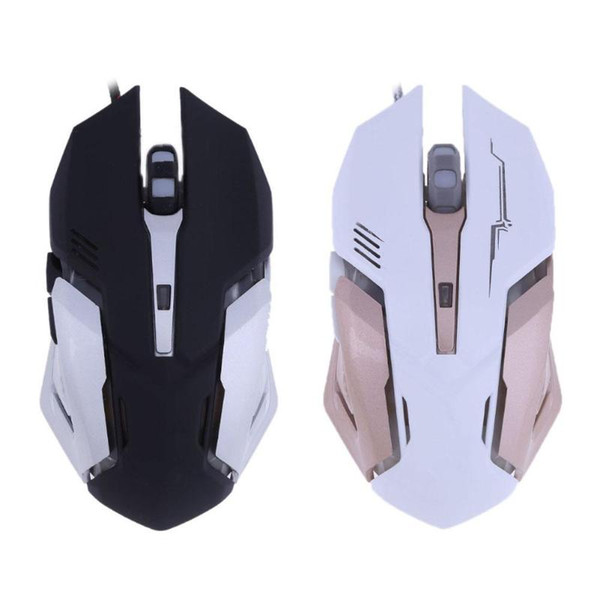 Professional USB Wired Mechanical Optical Silent Macro Definition Function E-Sports 2500DPI 6 Buttons Optical Gamer Gaming Mouse