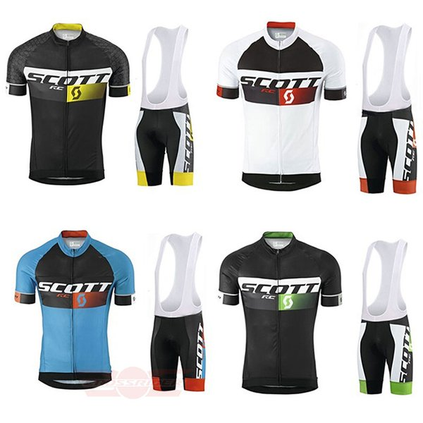 top popular Crossrider summer SCOTT cycling jersey team bike wear clothes high quality MTB Ropa Ciclismo pro cycling clothing mens short bib sets 2019
