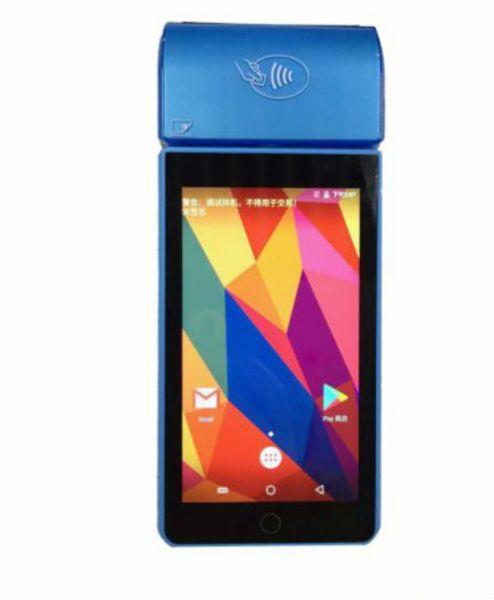 Terminais espertos Handheld, terminal Handheld do andróide 7.0, pagamento móvel eletrônico do apoio de máquina de 5 polegadas, EMV / Pvi C