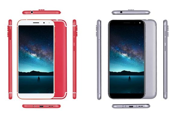 Factory wholesale 5.72 inch, 18:9 quad-core low-cost smart phone, 16gb foreign trade export 4G Android mobile phone oem