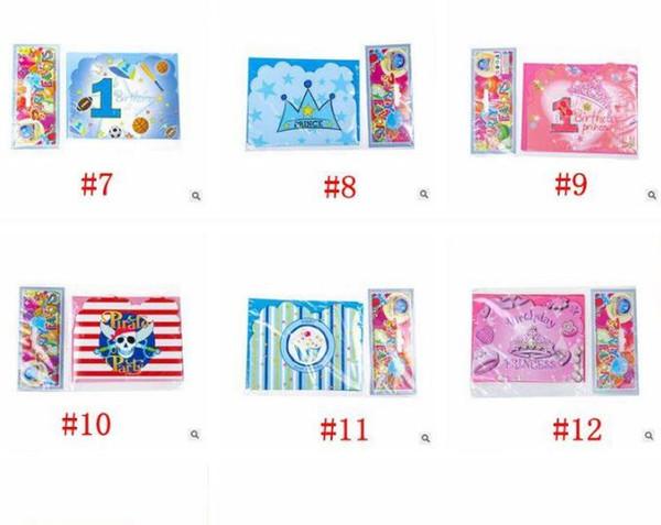 Compre Princesa Prince Fiesta Temática Tarjeta De Invitación De Papel Kids Emoji Feliz Cumpleaños Fiesta Suministros Decoración Favores Dhl Envío