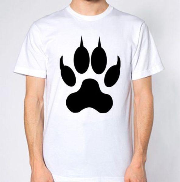 Cat Paws T-Shirt Kitten Paw Animal Lover TOp Hip hop funny tee Short Sleeve 2018 summer new men Short sleeve T-shirt sleeve t shirt