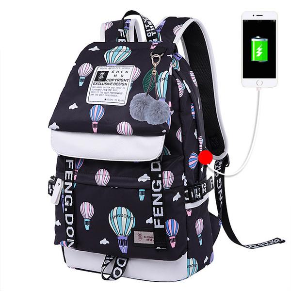 Pink sugao designer backpack large capactiy fashion backpacks canvas school bookbag shoulder bags 12 color choose for travel and school