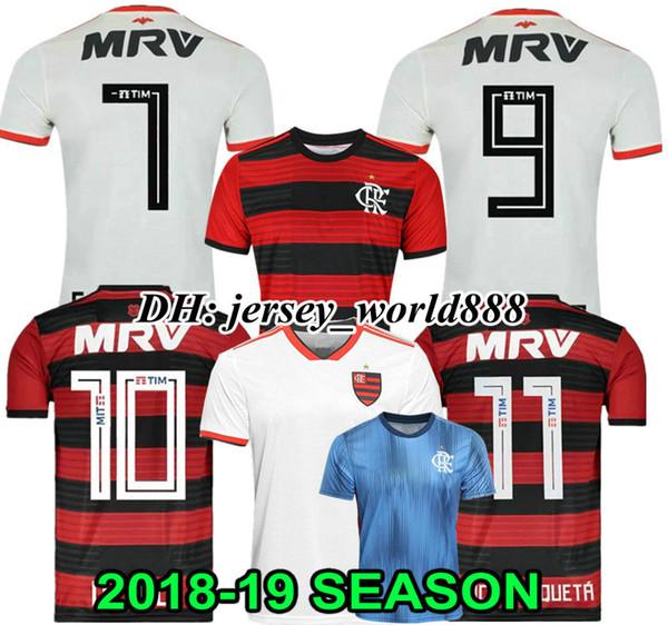 Top Thai quality 18 19 Chandal Flamengo home Soccer Jersey 2018 2019 Brasil  Flemish flamengo Away white DIEGO CONCA WOMEN Football shirts 45abce31b