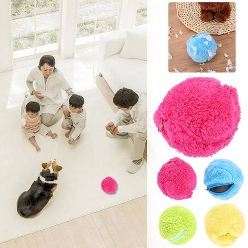 Automatic Rolling Vacuum Floor Sweeping Robot Cleaner Microfiber Ball Cleaning