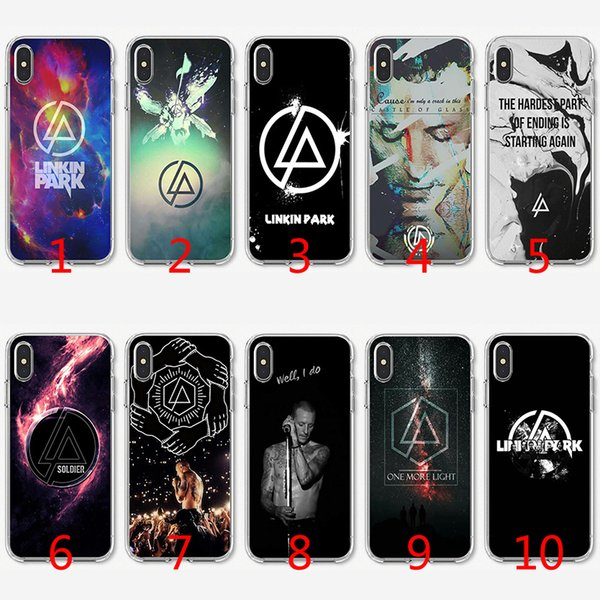 coque iphone 8 linkin park