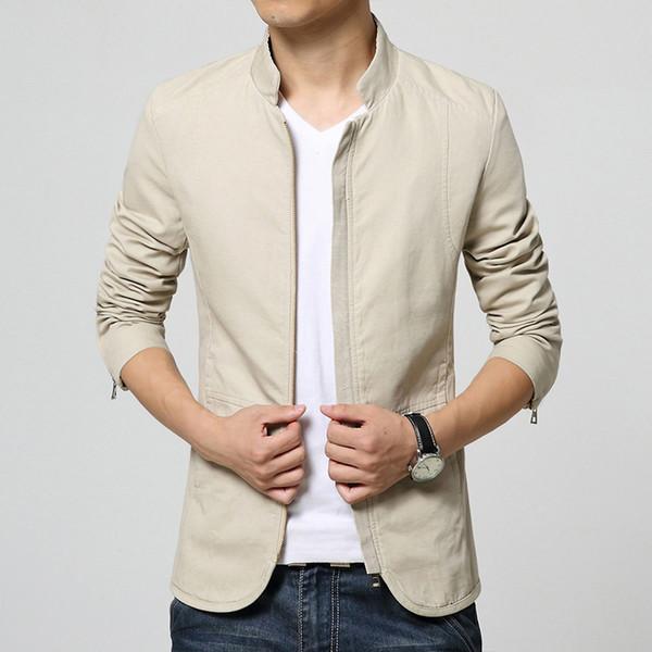 2018 New Mens Blazer Jacket Men s Casual Slim Fit Suit Coats Men Casual Korean Jacket (Coat) Hot Sale 64FSC