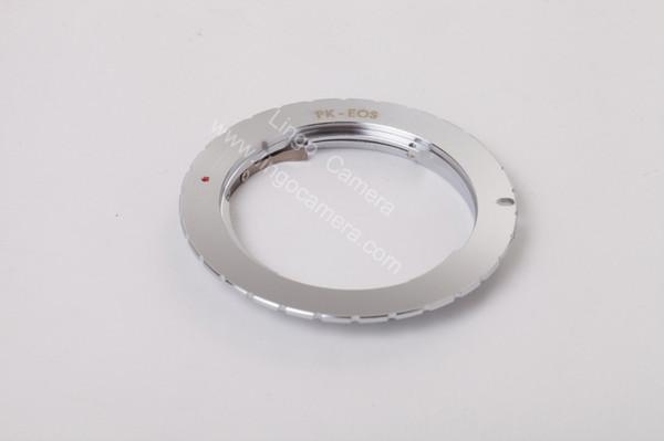 Pentax K Lens to Camera Mount Adapter Ring PK-EOS Adapter