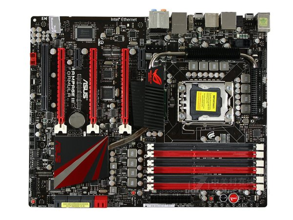 For Asus Rampage III Formula Desktop Motherboard Intel X58 Socket LGA1366 DDR3 ATX Core i7 Systemboard