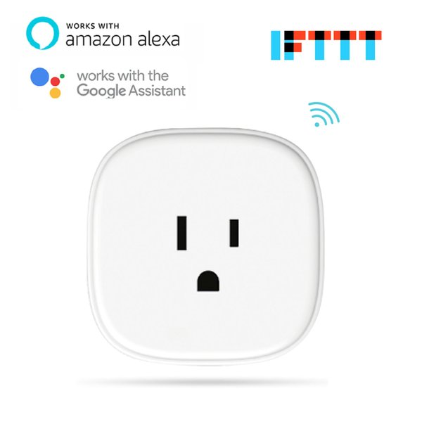 Meross Smart Wi Fi Plug Energy Monitoring App Remote Control Or Voice  Control Devices Works With Amazon Alexa Google Assistant And IFTTT Plug  Sockets
