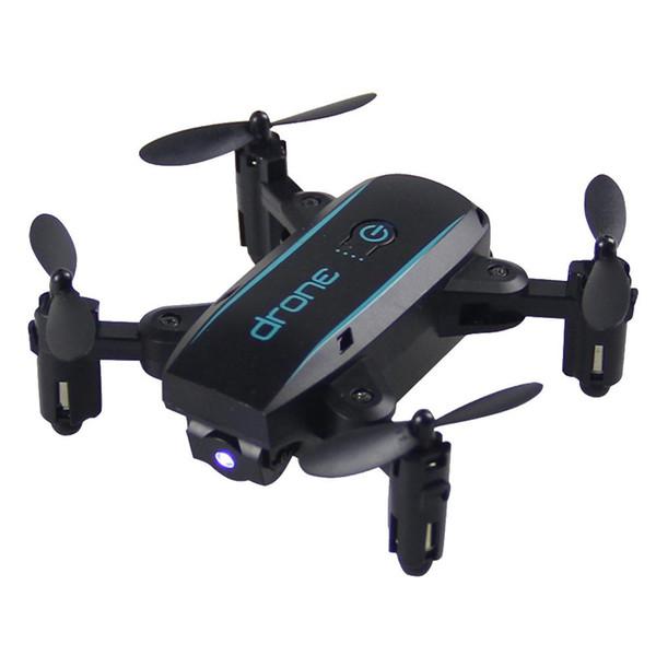 Geschenk Faltbare Mini-6-Achsen-2,4-GHz-4CH-Drohnen Mini One Button Landung Quadtcoper Neue 6-Achsen-Gyro-2,4-GHz-4CH-Drohnenleistung