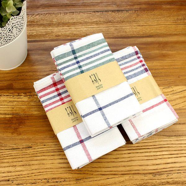 top popular 3pcs highquality napkin colorfast photo background cloth home kitchen gourmet napkins tea towel 2021