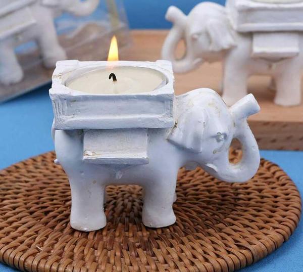 "NEW ARRIVAL Wedding Favors ""Lucky Elephant"" Tea Light Candle Holder SN374"
