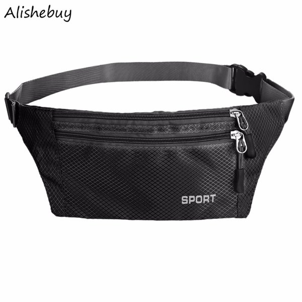 Waterproof Waist Pack for Men Women Fanny Pack Bum Bag Hip Money Belt Waist Pouch Travel Cycling Mobile Phone Bag LPN001236