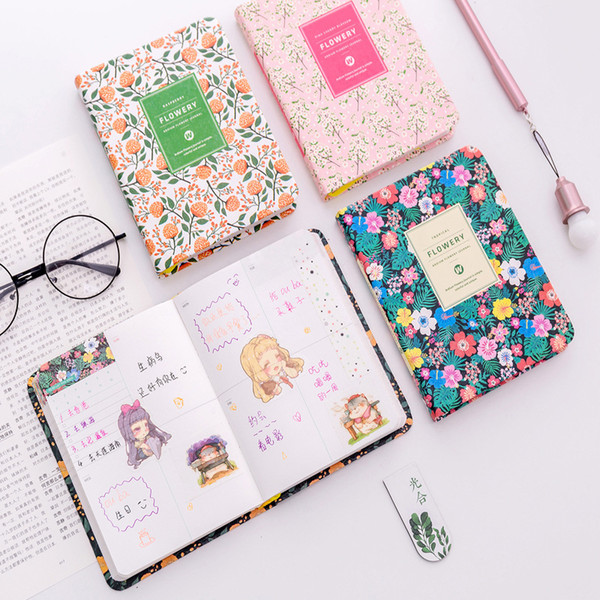A5 Week Plan Leather Basis Korea Stationery Originality Notepad Perpetual Calendar Schedule Basis Diary Weekly