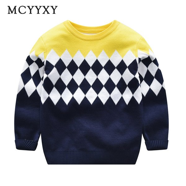 MCYYXY Baby Birls Sweaters Cardigan 2018 Spring Autumn Kids Pullover Cartoon Brand Knit School Little Children