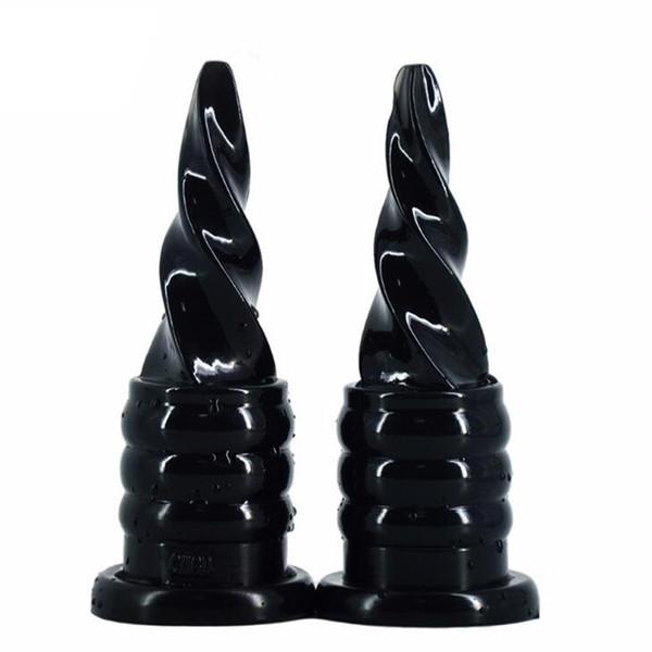 Wasserdichter weicher Silikon-realistischer Dildo mit Saugnapf-großer Größen-Analplug-Erwachsen-Sex-Spielzeug-Sex-Produkten für Frauen