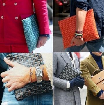 Brand Goyards Leather Hand Bag Designer Totes Bags