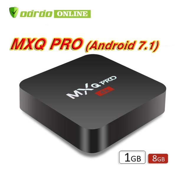 Factory Sale OEM MX2 MXQ PRO 4K RK3229 Quad Core Android 7.1 TV BOX Hot Sell 4K Media Player