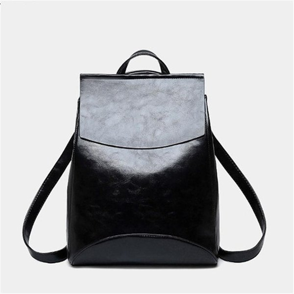 Fashion Women Backpack High Quality Youth Leather Backpacks for Teenage Girls  Female School Shoulder Bag Bagpack 9e90c9a175712