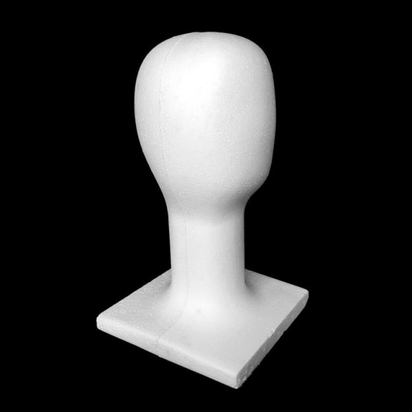 HOT!Mannequin Female Foam Long Neck Head Model Hair Hat Wig Glasses Stand Display Hat Display Stand dropship Y713