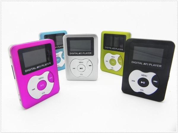 E316 USB MP3 Player Mini LCD Screen Support 32GB Micro SD TF Card DIGITAL mp3 player