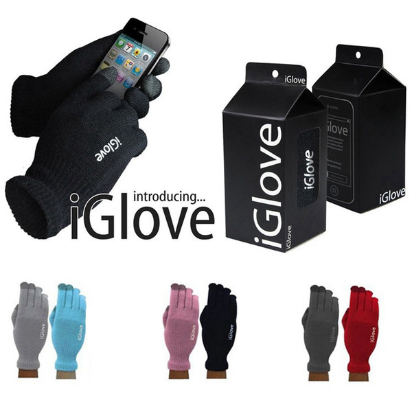 iGlove capacitive touch screen gloves winter warm unisex multi purpose i glove for iphone xipad smart phone Christmas gift