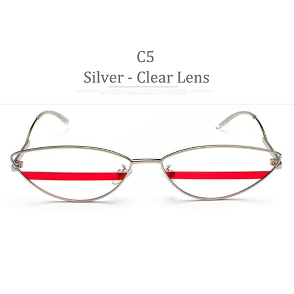 Lenti a C5 Silver Frame C5