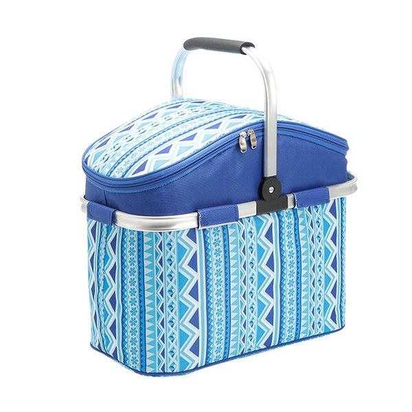 26L Picnic Bag Large Insulated Lunch Tote Picnic Backpack Basket for Gathering Camping Hiking Kayak