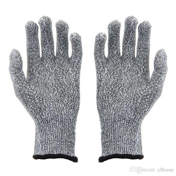 Luvas Resistentes ao Corte Luvas de Cozinha com Nível de Grau Alimentício 5 Protecção das Mãos Peso Leve Luvas de Trabalho Segurança