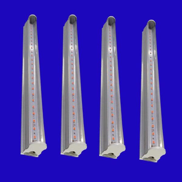 Tube complet bricolage T5 Tube LED Cultiver ampoule intérieure Graines Plantes à fleurs élèvent la lampe de tente 110-220V hydroponique Serre éclairage