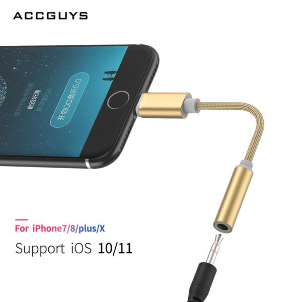 Kopfhörer / Kopfhörer Kabel Adapter für 77 Plus / 6 / 6S für Beleuchtung / IOS Schnittstelle zu 3,5 mm Klinkenbuchse Aux Audio Kabel