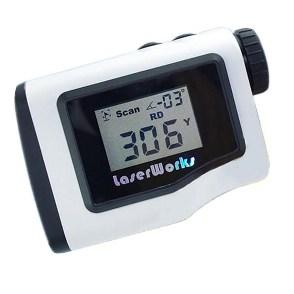 Telemetro da golf 600m display LCD palmare scope da caccia gamma telemetro laser monoculare impermeabile 3 colori F600