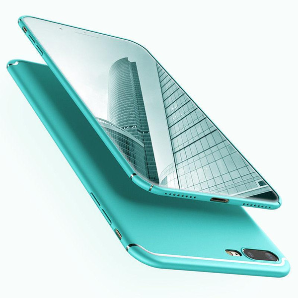 Details about Great Ultra Thin 360 Full Protection Phone Case Cover For iPhone X 6S 7 8 Plus CANDY COLOR E380