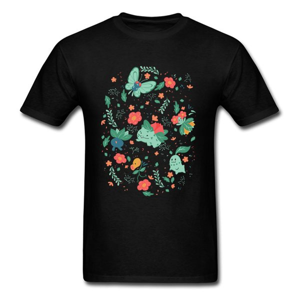 In The Tall Grass T Shirt Men Tshirt Fairy Tale Tops Summer Story T Shirt Cartoon Printed Clothing Cotton Tees Black Shirts