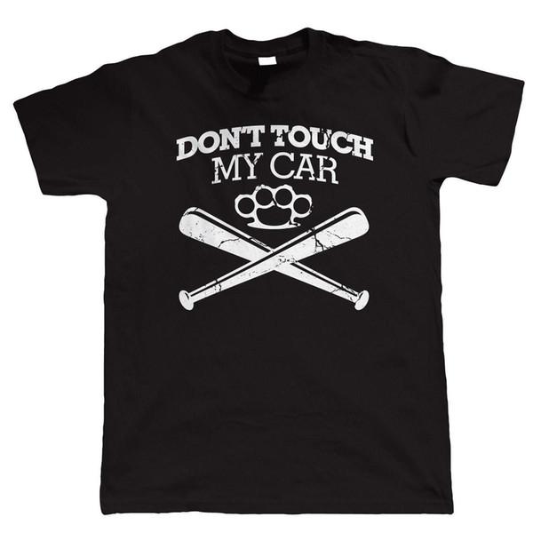 Ne touchez pas ma chemise de mens de voiture de voiture, voiture classique de muscle américain de Rod Hotd JDM