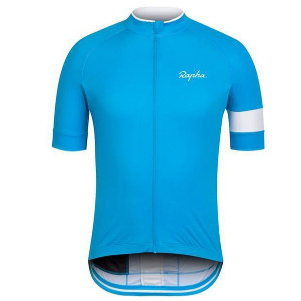 top popular 2019 RAPHA Team Cycling Jerseys Men Summer Short Sleeves Road Bike Clothing Ropa Ciclismo Cycling Clothing Sports Uniform Y081306 2019