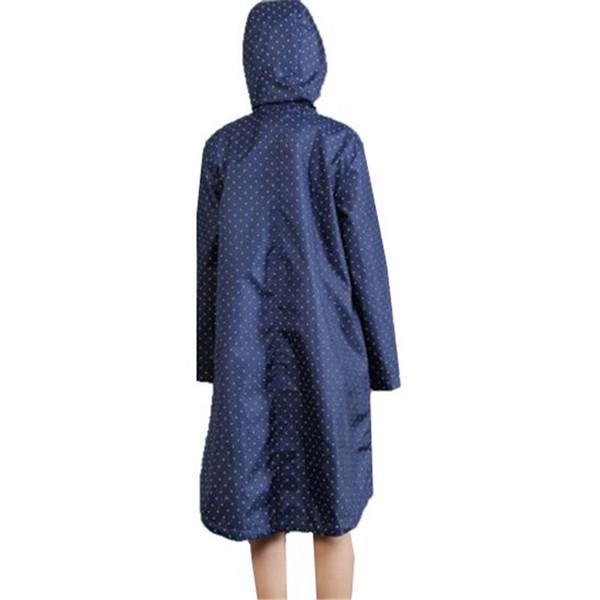 d2185849d68 2018 New Women Hooded Windbreaker Raincoat Outdoor Waterproof Hiking Rain  coat Poncho Long Rainwear Rain Jacket Y50