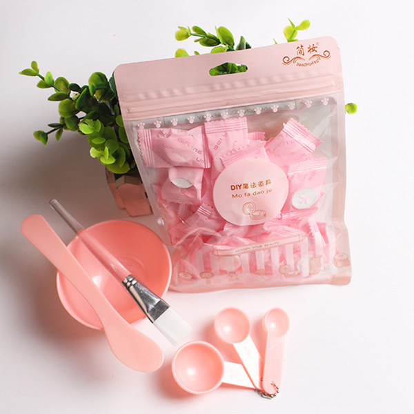 Facial Beauty Mask Bowl Set +30pcs Disposable Towel Compressed Mask Towel Face Care DIY Magic Makeup Beauty Set Makeup Tool Kits