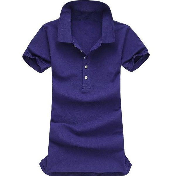 Small horse brand style Women Five button Slim fit polo shirt Vogue fashion Business decorous Casual High quality S-XL WNSN808
