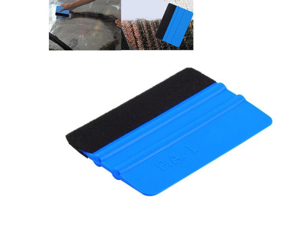 best selling Car Vinyl Film Wrapping Tools 3m squeegee with felt soft wall paper scraper mobile screen protector install squeegee tool