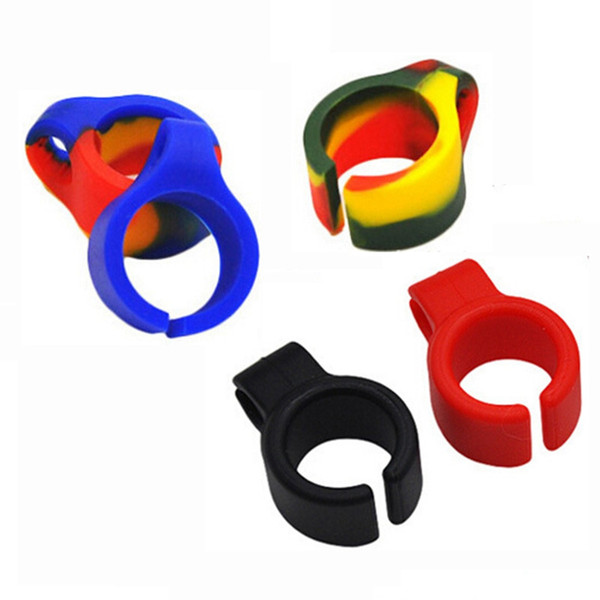 Cigarette Rings Silicone Smoking Cigarette Smoke Ring Stent Tobacco Joint Holder Rings For Regular Size (7-8mm) Cigarette Smoking Ring