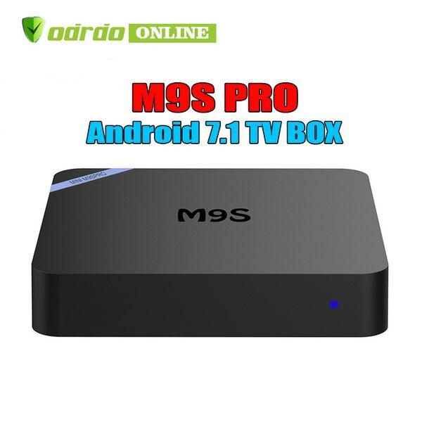 RK3229 Android 7.1 TV Box M9S PRO Rockchip Quad-core Cortex A7 1G/8G 4K*2K 2.4G WiFi HDMI Smart OTT Media Player BETTER A95X A5X