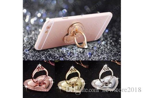 General Metal Finger Ring Stand Holder Mount Bracket For iPhone Cell Phone PSP wkws