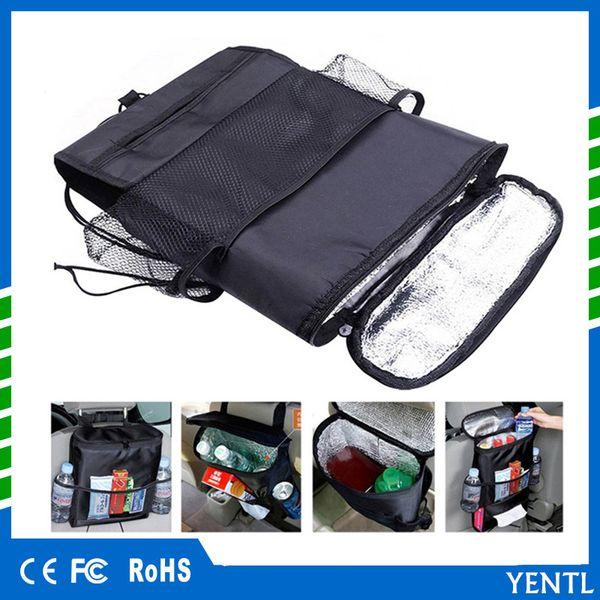 free shipping YENTL Universal Car Seat Back Organizer Warmer Universal Auto Car Storage Bag Multi Pockets Seat Back Organizer Travel