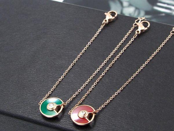 New UFO fan-shaped half-open color shell bracelet female Japan and South Korea fashion tide female titanium steel rose gold hand jewelry