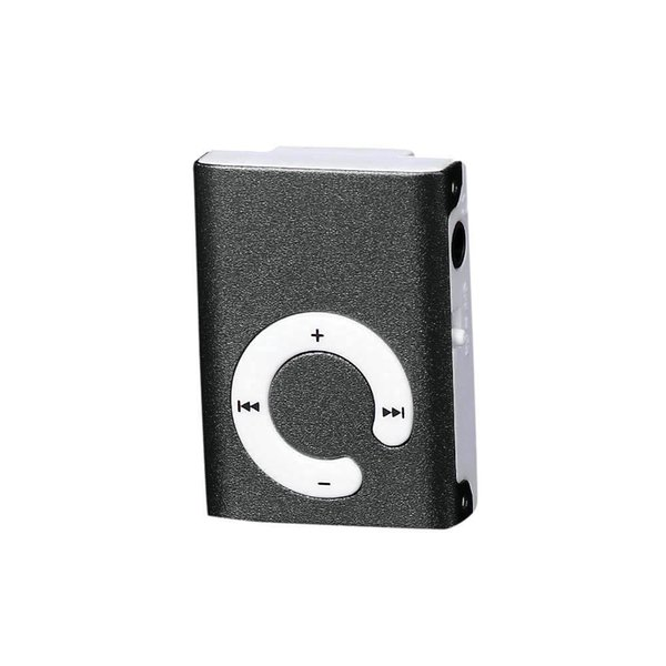 Mini Clip Metal USB MP3 Player Support 32GB Micro SD TF Card Portable High Quality Wholesale Music players MP3 Suppion
