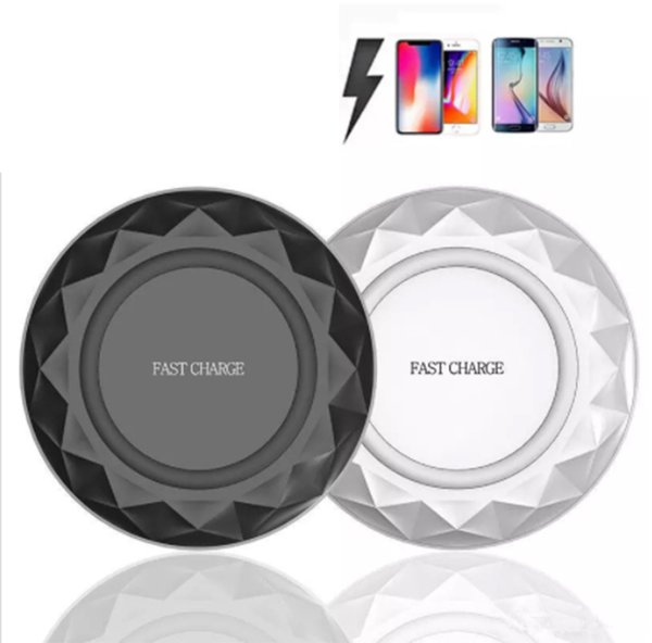 2018 Universal Qi Wireless Charger Charging Pad for iPhone 7 Plus, For Samsung Note Galaxy S6 Edge, HTC, LG